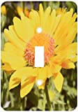 3dRose Lsp_22709_1 Yellow Flower Single Toggle Switch