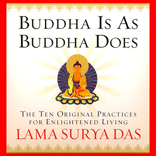 Buddha is as Buddha Does audiobook cover art