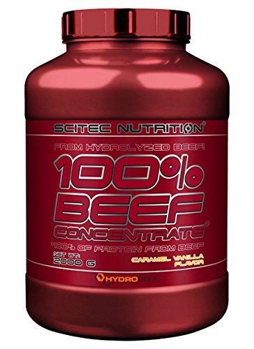 Scitec Nutrition 100% Beef Concentrate, 2000 grammi, Caramello Vaniglia