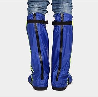 防水靴カバー オックスフォード布男性と女性のレインブーツセット厚手の耐摩耗性滑り止めレインブーツ雨の日防水靴カバー屋外