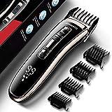 Haarschneider, JOMARTO Profi Haarschneidemaschine Haartrimmer herren Home Friseur Geschenkset, USB...