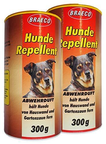 Preisjubel 2 x Hunde Repellent 300g, Abwehrduft gegen Hunde, Hundeschreck, Hundeschutz