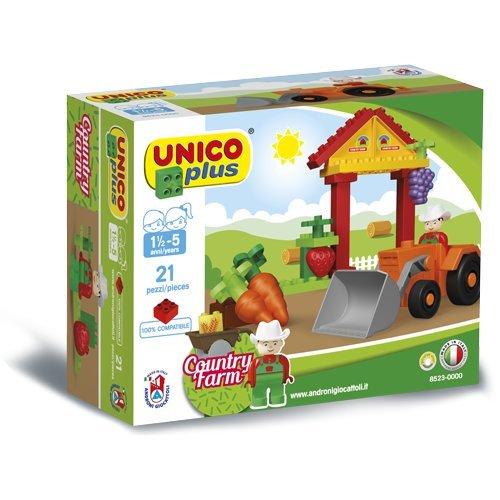 Unico- Unicoplus 8523-0000-Minifarm, Multicolore, 8523