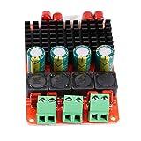 Amplificatore di Potenza Audio Scheda di amplificazione, TPA3116 Single 100 W/Dual 50W+ 50W Channel Power Amplifier, DC 12V 24V Scheda Amplificatore Digitale, Scheda Amplificatore Stereo PBTL