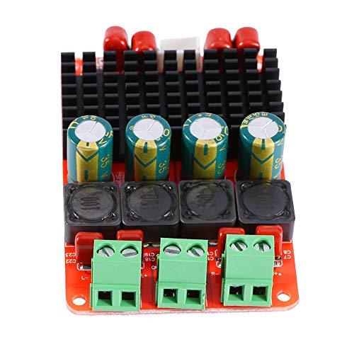 Amplificador de potencia TPA3116 50W × 2 PBTL amplificador de potencia de canal simple/doble DC 12V 24V AMP