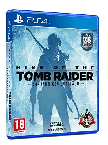 Rise of the Tomb Raider 20-Jähriges Jubiläum D1 Edition (PS4) (PEGI)