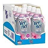Vernel Fresh Control Ammorbidente Neutralizza Odori, Freschezza Floreale, 8 x 52 Lavaggi