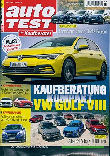 """günstig Kaufberater Self Test07 / 2020 """"Empfehlungen für den Kauf des VW Golf VIII Vergleich im Deutschland"""