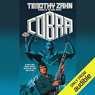 Cobra audiobook cover art
