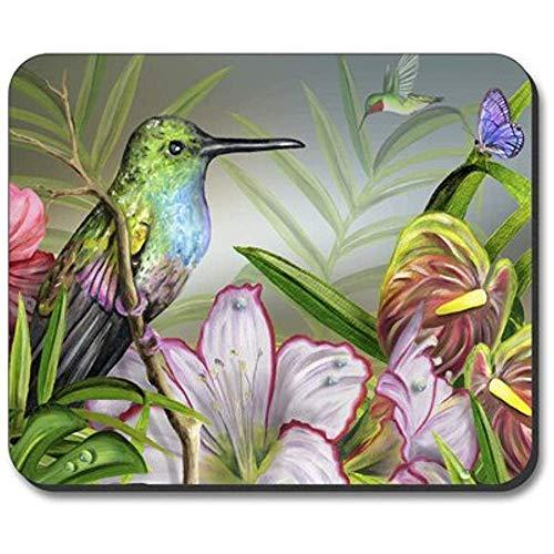 Kolibri Im Ruhezustand - Hochauflösendes, Rutschfestes Mousepad Auf Gummibasis Für Laptops