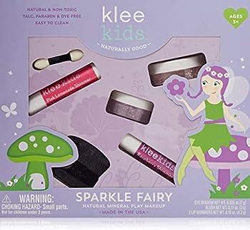 Luna Star Naturals Klee Kids Natural Mineral Makeup 4 Piece Kit Sparkle Fairy