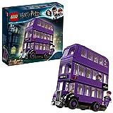 LEGO HarryPotter Nottetempo, Set da Collezione con Autobus Giocattolo a 3 Piani con Minifigure,...