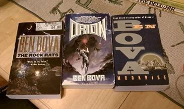 Set of 3 Ben Bova Novels (Orion, The Rock Rats, Moonrise)