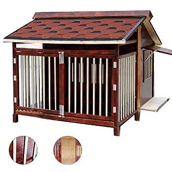 Cages et chenils Maison pour Animaux lit pour Animaux de Compagnie Villa pour Animaux de Compagnie Niche pour Chien en Plein air Litière pour Chat d'intérieur Résistant aux intempéries
