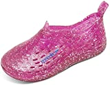 Speedo Unisex-Child Water Shoe Exsqueeze Me Jelly Toddler - Manufacturer Discontinued,Fuchsia Glitter,M Toddler US