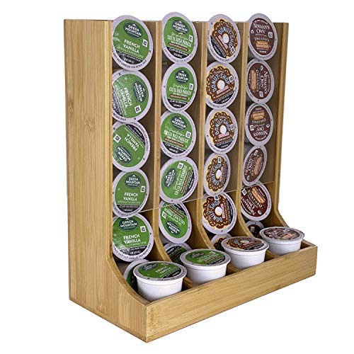 Check Out This Coffee K Cup Holder Bamboo - Coffee K-cup Pods Organizer For Coffee Station - Coffee ...