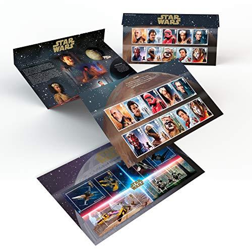 Royal Mail Star Wars Paquete de presentación (sello fijado