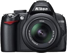 Nikon D3000 10.2MP Digital SLR Camera with 18-55mm f/3.5-5.6G AF-S DX VR Nikkor Zoom Lens