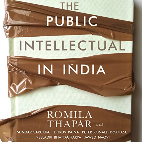 The Public Intellectual in India audiobook cover art