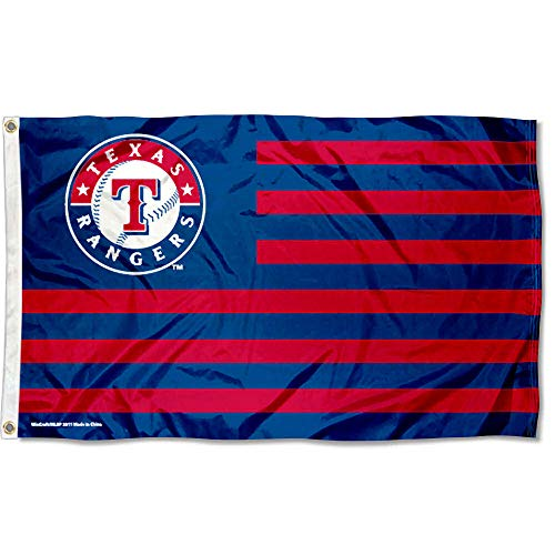 WinCraft Texas Rangers Nation Flag 3x5 Banner