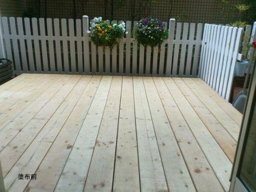 ウッドナチュラル~ガーデン~ロンドングレー200g<ためし塗りやガーデン小物に最適なサイズです>