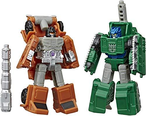 Transformers Toys Generations War for Cybertron: Earthrise Micromaster WFC-E4 Military Patrol confezione da 2 – bambini da 8 anni in su, 1,5 pollici