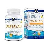 Nordic Naturals Omega-3 in Fish Gelatin, Lemon Flavor - 690 mg Omega-3-60 Fish Gels - Fish Oil - EPA & DHA - Immune Support, Brain & Heart Health, Optimal Wellness - Non-GMO - 30 Servings