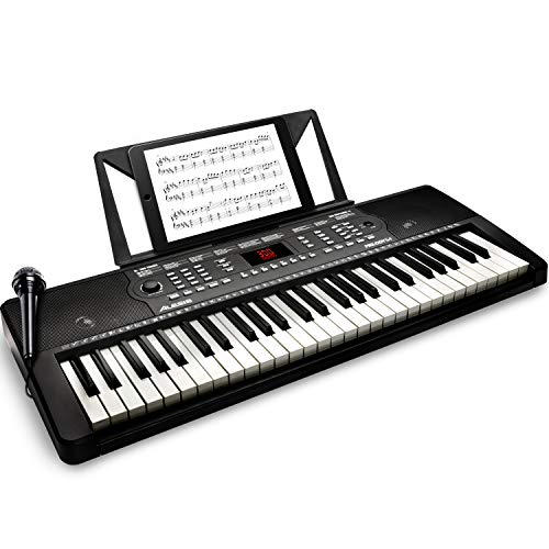 Alesis Melody 54 - Electric Keyboard Piano with 54 Keys, Speakers, 300...