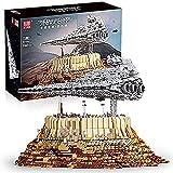 FYHCY Technik Star Destroyer Model, Mold King 21007, 5162 Piezas Large UCS Super Star Destroyer Moc Bloques de sujeción Juego de construcción Compatible con Lego Star Destroyer