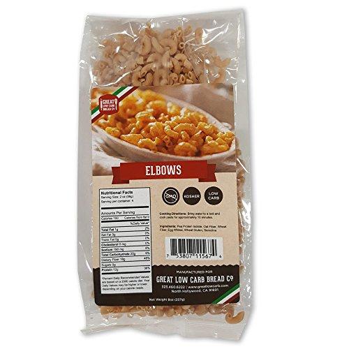 Low Carb Pasta, Great Low Carb Bread Co, 8 oz. (Elbows)