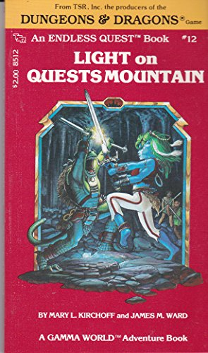Light on Quests Mountain (An Endless Quest book, #12)