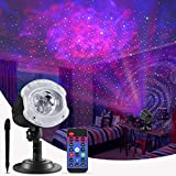 ECOWHO Christmas Laser Light Projector Outdoor, 10 Colors Changing 2 in 1 Galaxy Projector Lights Outdoor Ocean Wave LED Night Light...