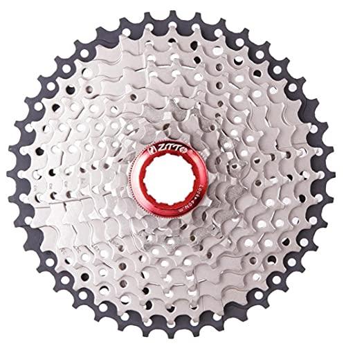 10 velocità Cassette velocità Ciclistica Ruota Libera 11-42t Ciclismo Ruota Libera Sprocket Ingranaggi per MTB Bike Strada della Bicicletta