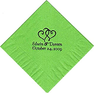 Best paper napkins personalized Reviews