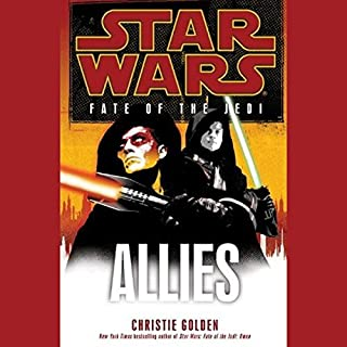 Star Wars: Fate of the Jedi: Allies                   By:                                                                                                                                 Christie Golden                               Narrated by:                                                                                                                                 Marc Thompson                      Length: 13 hrs and 23 mins     147 ratings     Overall 4.7
