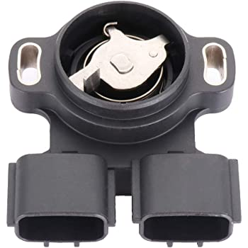 Cuque A22-658 Auto Throttle Position Sensor for Nissan Maxima Altima Infiniti I30 2.4L Engines Plastic Metal Black A22-658-N00 A22-658-N02 A22-658-E00 A22-658-E03 A22-658-E02