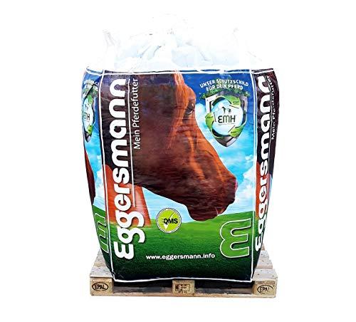 Eggersmann Maisflocken – Einzelfuttermittel für Pferde und Ponys – Viel Energie, wenig Eiweiß – 750 kg Big Bag
