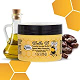 BELLA B Tummy Honey Butter 1 oz - Tummy Butter For Fading Stretch Marks - Made with Organic Ingredients - Pregnancy and Baby Safe - Baby Shower Gift