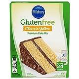 Pillsbury Gluten Free Classic Yellow Cake Mix 15 oz (Pack of 3)