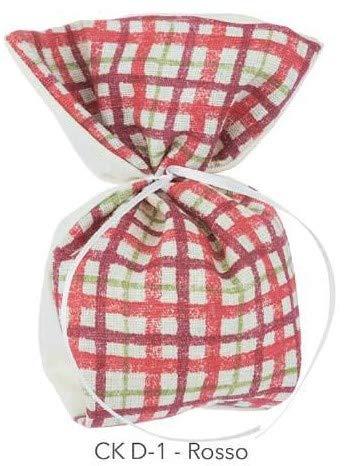 f.caruso 10 Säckchen für Bonbons, 18 x 13, Platzkarten, Gastgeschenke, Geburt, Taufe, Hochzeit (ckD01/10)