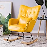 LJQLXJ divano Single Sofa Recliner Rocking Chair Easy Chair Living Room Bedroom Balcony Lounge Chair Siesta Chair Lazy Chair,Sparks Fy 7