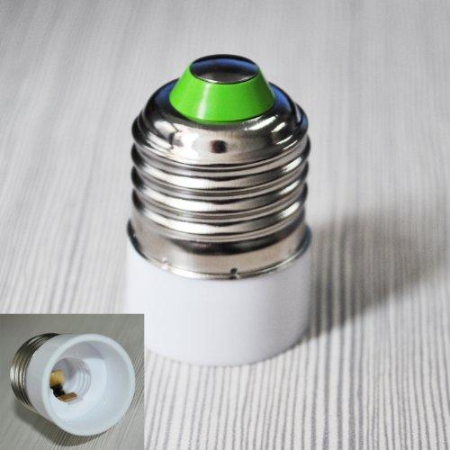 TOOGOO (R) E27 a E14 della lampada LED Base adattatore lampadina convertitore
