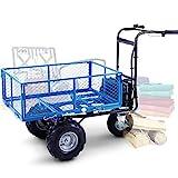 Landworks Utility Cart Hand Truck Power Wagon...
