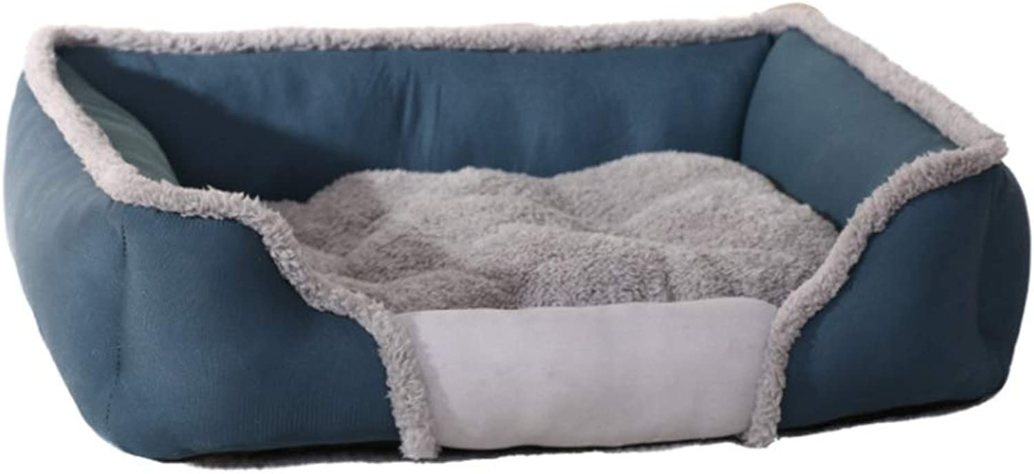 Dog Bed and Sofa with Detachable Washable mat, Warm Winter Dog Bed,XL