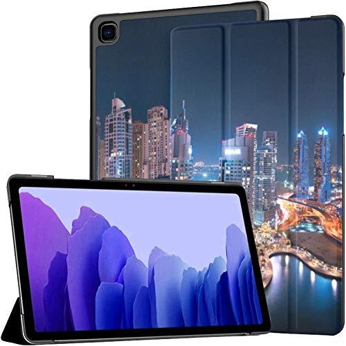 The Super Rich Country Dubai Fundas para Galaxy Tab A Galaxy Tab A7 Funda para Tableta Samsung de 10.4 Pulgadas para Tableta con activación/suspensión automática Ajuste Samsung Galaxy Tab A7 10.4 F