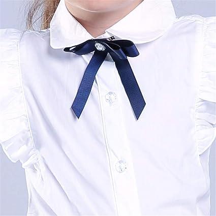 adasideng - Camisa de Manga Corta para niña, diseño de Lazo ...
