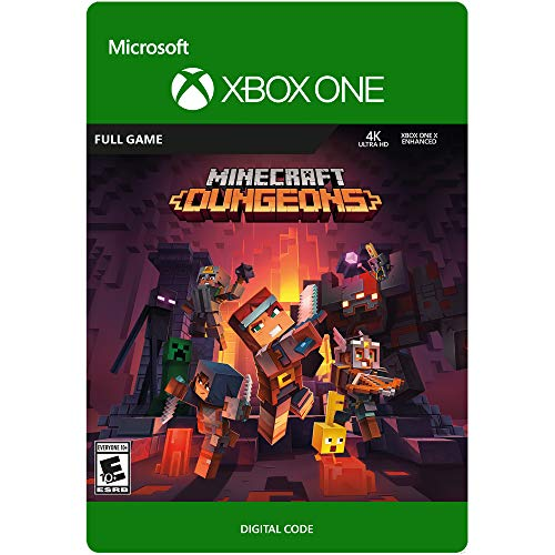 Minecraft Dungeons Standard – Xbox One [Digital Code]