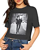 Handsome Boy Shawn Peter Raul Mendes Shirt Fashion Summer Dew Navel T-Shirt Womens with HD 3D Print Black