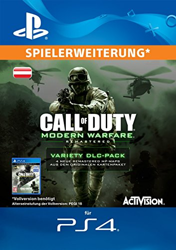 Call of Duty: Modern Warfare Remastered Variety Map Pack Edition DLC [PS4 Download Code - österreichisches Konto]