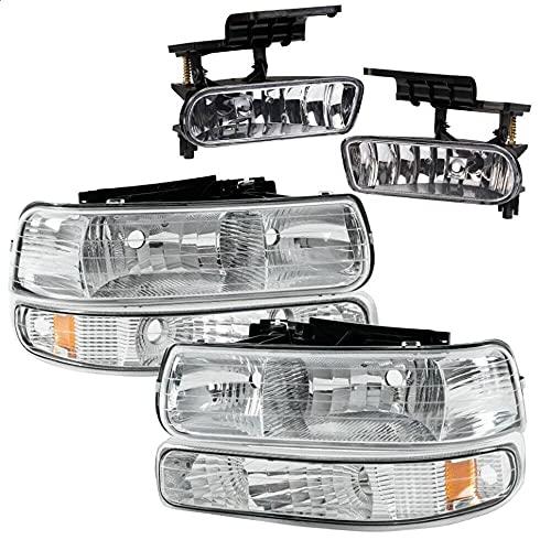 02 silverado headlight assembly - 7